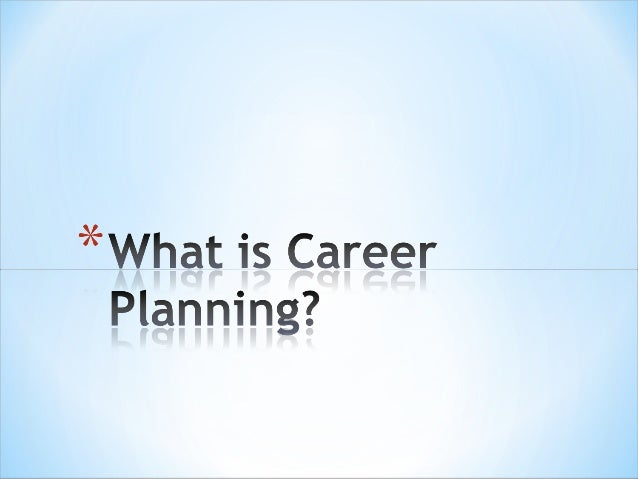 occupation career