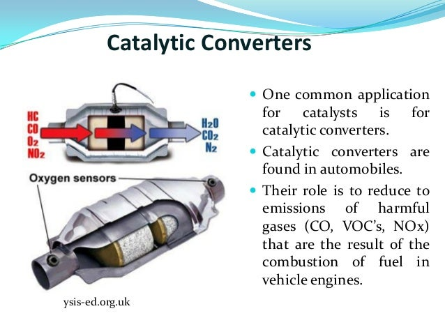 Catalytic Converters  Onemonapplicationforcatalystsisforcatalyticconverters: What Is The Function Of A Catalytic Converter At Woreks.co
