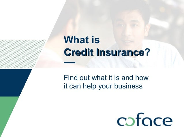 What is Credit InsuranceCredit Insurance? Find out what it is and how it can help your business TITLE OF PRESENTATION / DA...