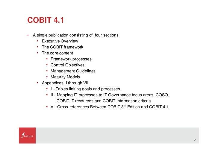 Introduction of cobit