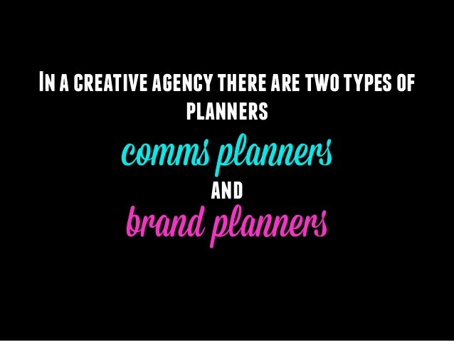 What is Comms Planning? Slide 3