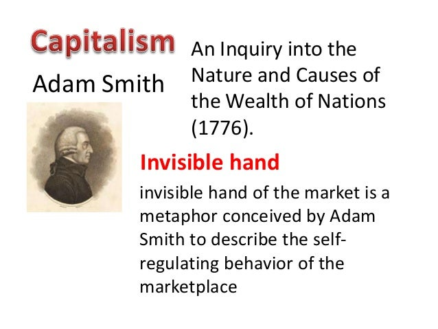 Adam smith wealth of nations invisible hand summary
