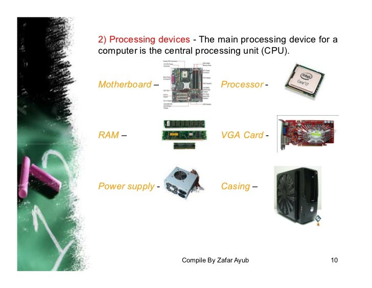 Processing Devices Examples
