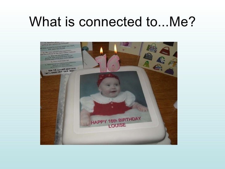 What is connected to...Me?