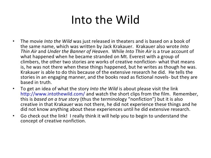 Into thin air movie summary