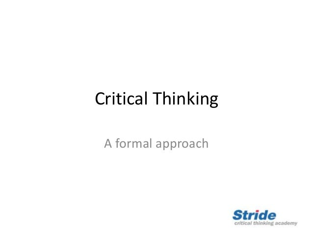 how do you think assumptions interfere with critical thinking