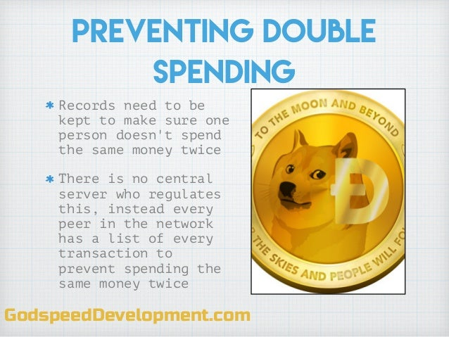 Cryptocurrency double spending definition ucla oregon odds football betting