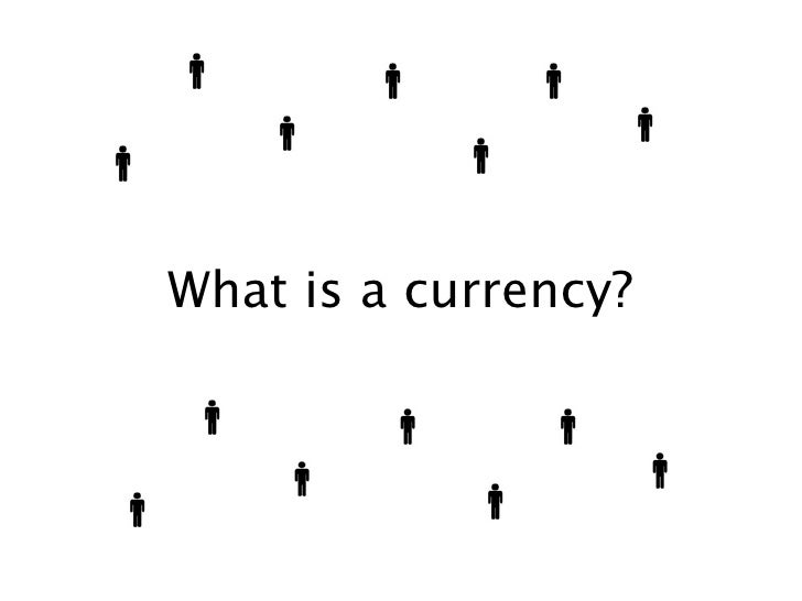 What is a currency?