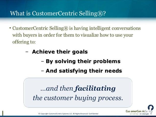Customer Centric Selling Pdf