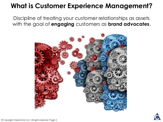 Discipline of treating your customer relationships as assets with the goal of engaging customers as brand advocates. © Cop...