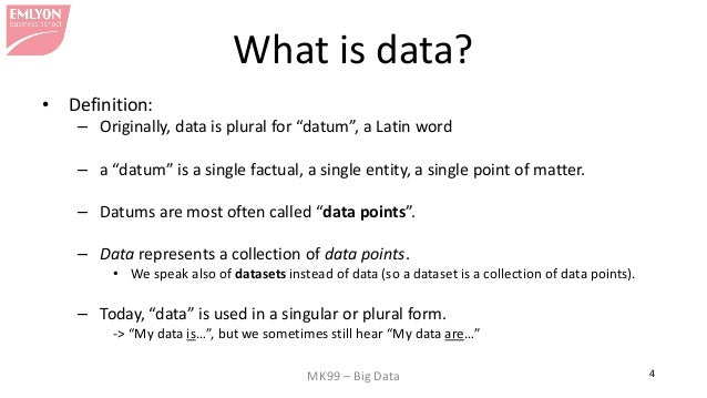 what is data All data is stored in binary digits, and there is a limit to how much data we can represent for example, a color image on a computer has a limited number of colors - the number might be very.