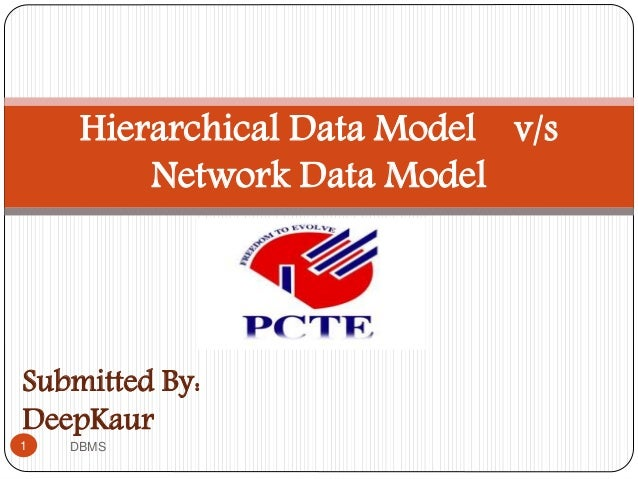 Submitted By: DeepKaur Hierarchical Data Model v/s Network Data Model 1 DBMS