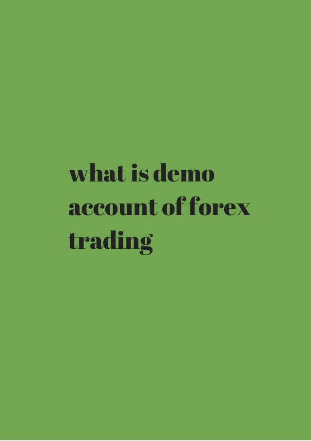 What is a forex account
