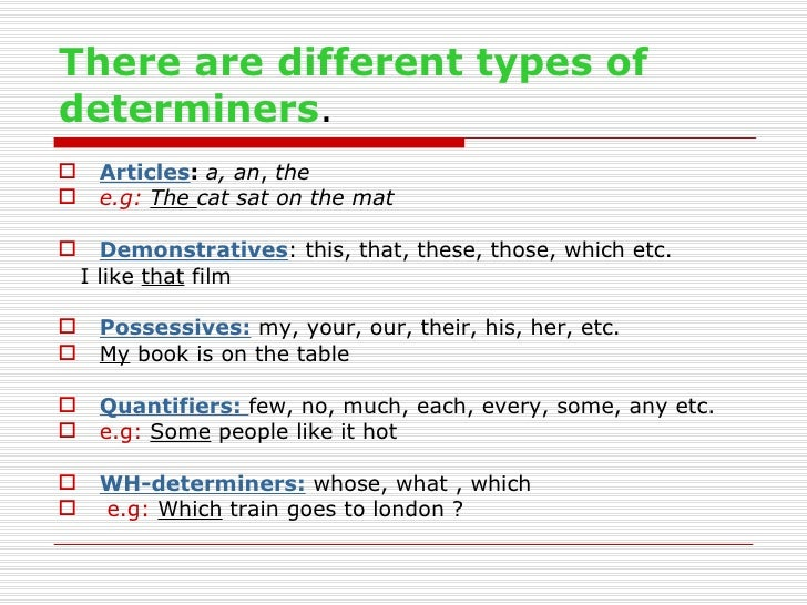 Free Worksheets wh worksheets : What is determiner