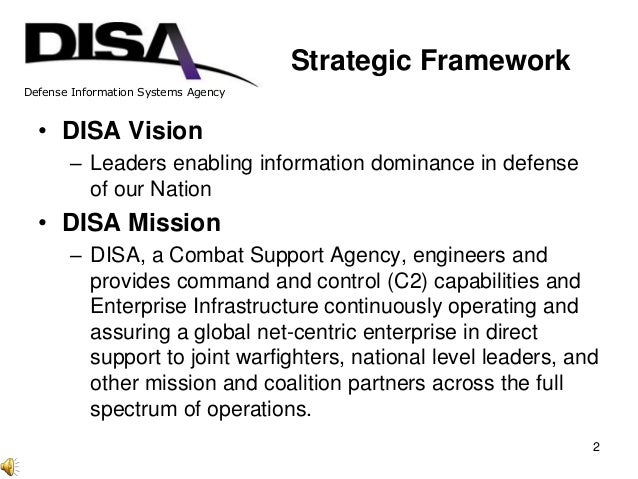 Knowledge Management and Knowledge Sharing at DISA