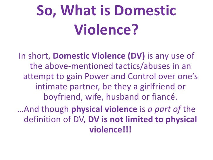 domestic abuse definition and analysis Analysis: random effects meta when we excluded studies that used conservative definitions of domestic violence or employed non (2009) how far does screening.