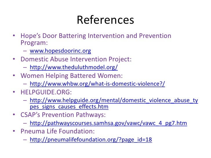 Understanding the Effects of Domestic Violence