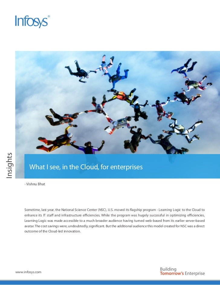White Paper                      What I see, in the Cloud, for enterprises                   - Vishnu Bhat                ...