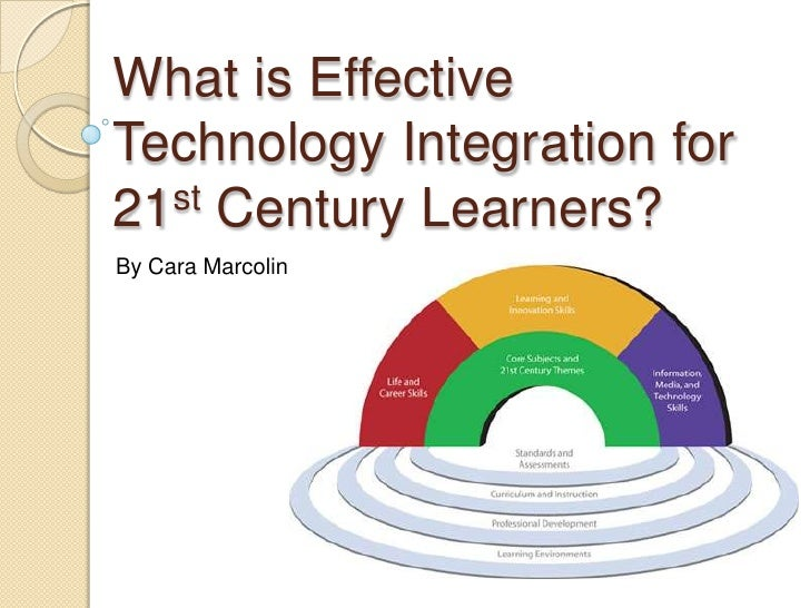 What is Effective Technology Integration for 21st Century Learners?<br />By Cara Marcolin<br />