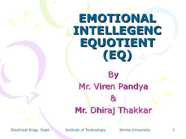EMOTIONAL                             INTELLEGENC                              EQUOTIENT                                 (...