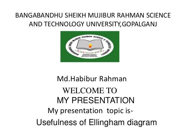 What is ellingham diagrampptxhabib bangabandhu sheikh mujibur rahman science and technology universitygopalganj mdhabibur rahman welcome to what is ellingham ccuart Images