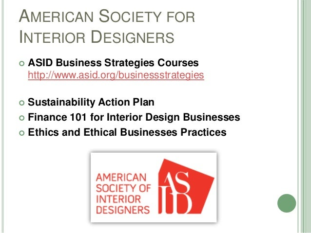 Interior Design subjects for accounting