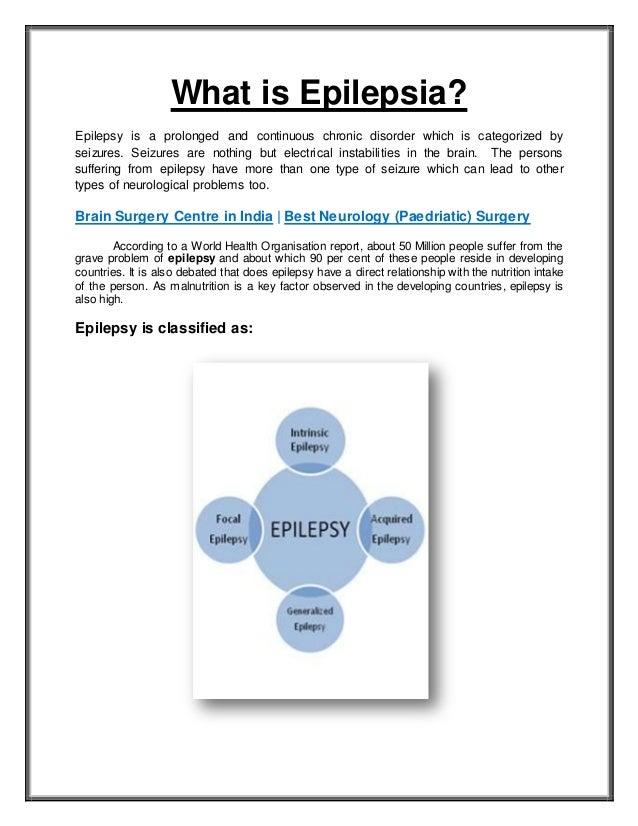 What is epilepsia