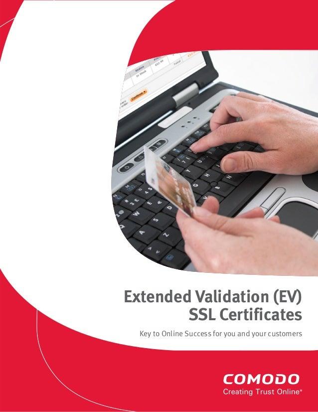Extended Validation Ssl Certificateev Ssl