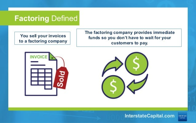 What Is Factoring - Sell your invoices