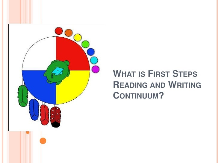 What is First Steps Reading and Writing Continuum? <br />