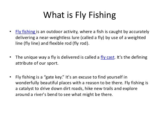 What is fly fishing and fly casting for What is fly fishing