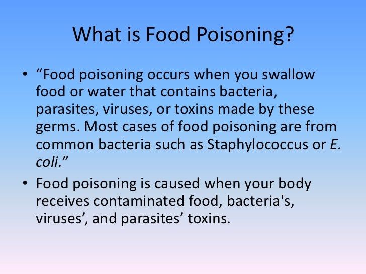 What Is Food Poisoning? By: Aishu Anand; 2. For Food Poisoning Duration