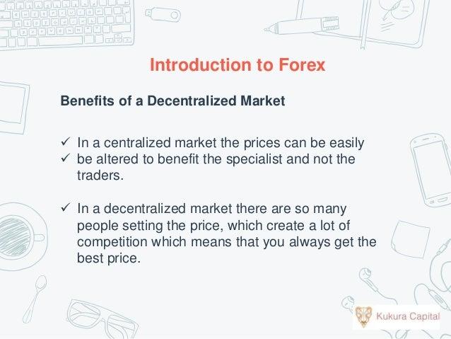 Forex benefits