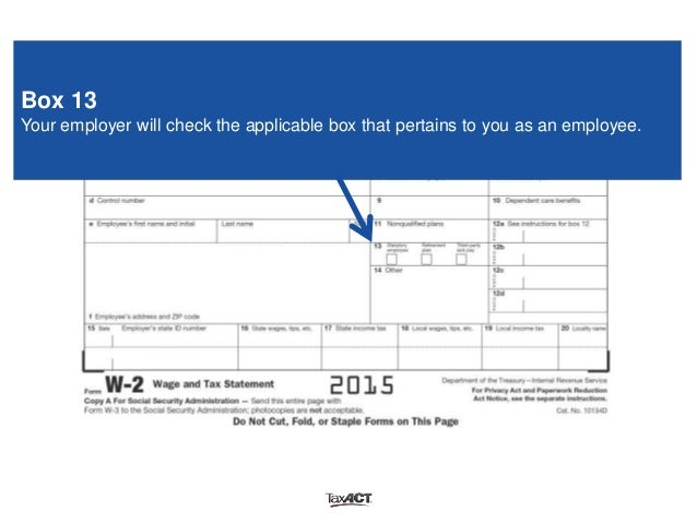 What is box 14 on my w2 form
