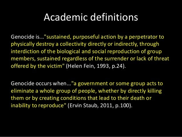What is genocide ppt week 2 student