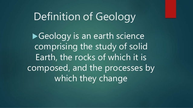 Image gallery geology definition for Geology dictionary
