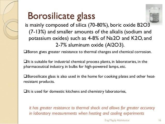 Borosilicate Glass Chemical Formula