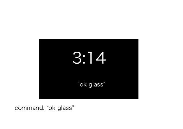 Google Ok Glass Take A