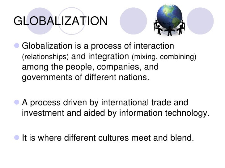 technology globalization and government