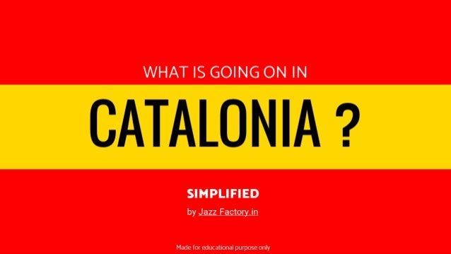 What is going on in CATALONIA? (explained in 5 minutes)