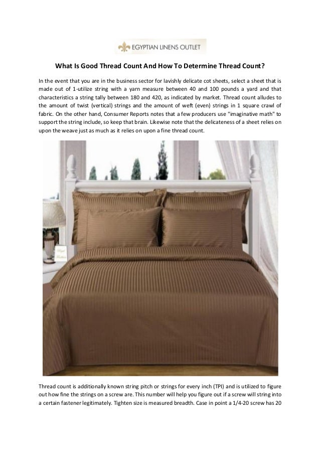 what is good thread count and how to determine thread count. Black Bedroom Furniture Sets. Home Design Ideas