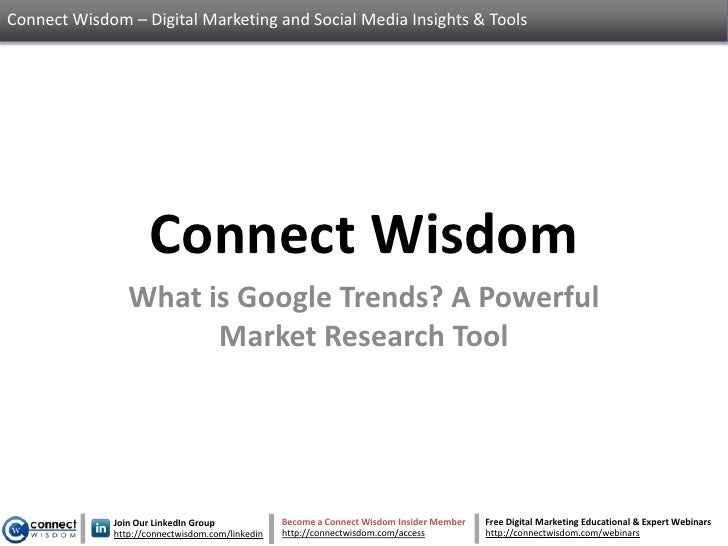 Connect Wisdom – Digital Marketing and Social Media Insights & Tools                    Connect Wisdom                What...