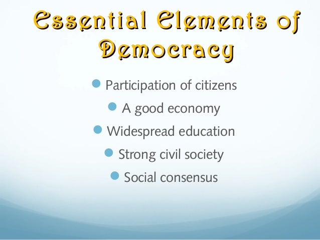 relationship of government and civil society in constitutional democracy