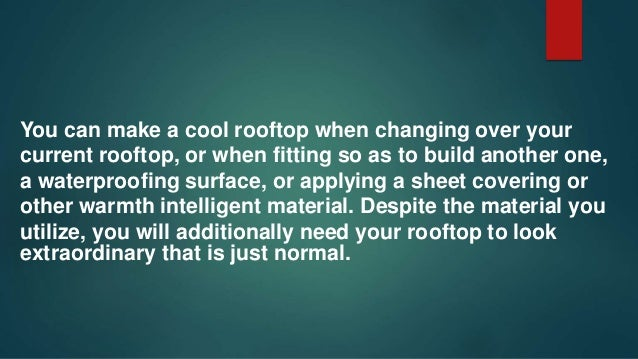"""Eco-Friendly """"Green Roof."""" Metal roof painting Detroit specialises have found that if you have a level or shallow-pit roof..."""