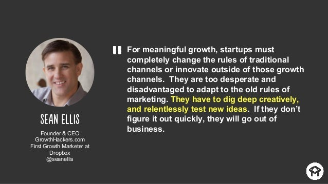Finance owns the flow of cash in and out of a company. Growth owns the flow of customers in and out of a product. VP, Grow...