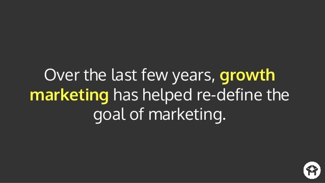 It's changed the way that marketers think about driving demand and creating successful customers, instead of only thinking...