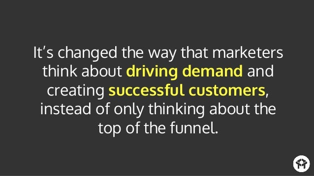 Former CMO Founding Team Member HubSpot @mvolpe Growth marketing is removing the boundaries of marketing to enable every a...