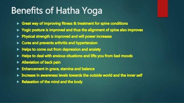 yoga and its benefits pdf