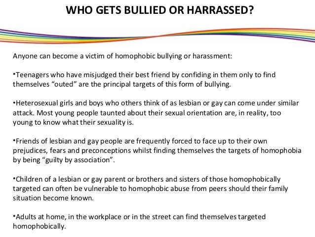 What is homophobia powerpoint