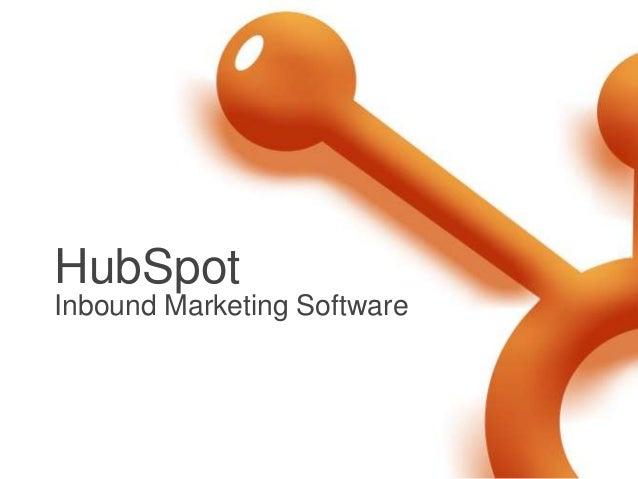 HubSpotInbound Marketing Software